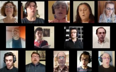 La Escolanía Salesiana María Auxiliadora de Sevilla lanza un vídeo coral desde el confinamiento