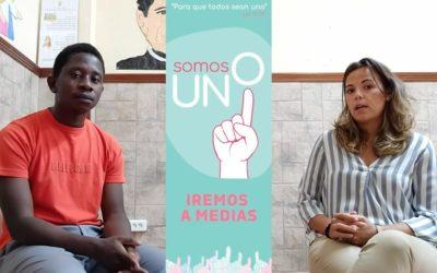 Norbert Mamba: 'Nos une la preocupación por los jóvenes en especial los más pobres'