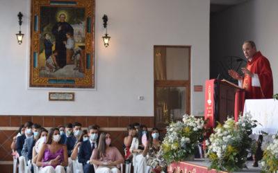 Jóvenes de Córdoba confirmados en la fe