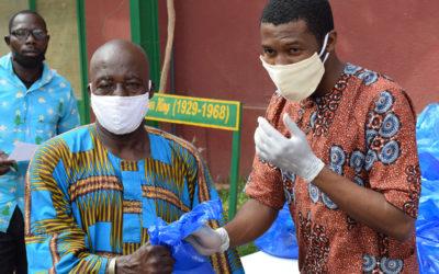 """""""Instalar dispositivos para el lavado de manos en nuestros centros profesionales de Bamako, Sikasso y Touba garantiza la educación de los más vulnerables"""""""