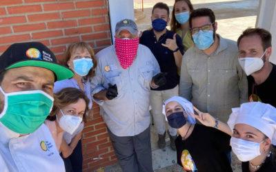 La Asociación Juvenil Carabela finaliza la cocina de emergencia social con 1500 comidas realizadas