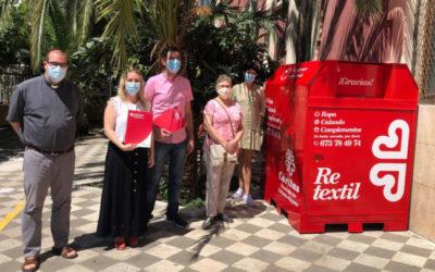 Salesianos Villena se suma al proyecto Retextil de Cáritas