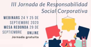 La III Jornada de RSC de la fundación FISAT abordará la responsabilidad social en tiempos de pandemia
