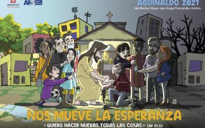Sale el póster del Aguinaldo 2021