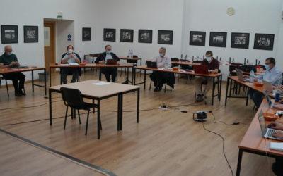 El consejero para la Región Mediterránea visita al consejo de la Inspectoría Salesiana María Auxiliadora durante la sesión de octubre