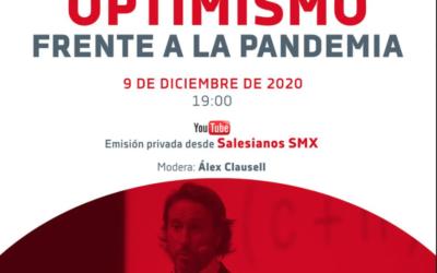 Salesianos y Victor Küppers ofrecen 'Optimismo frente a la pandemia'