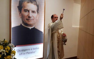 Salesianos Córdoba bendice el nuevo Columbario