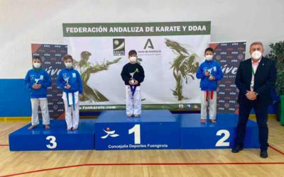 Un campeón andaluz de kárate entre los patios de Utrera