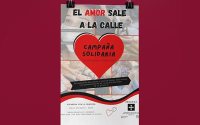 Montilla muestra que «El amor sale a la calle»