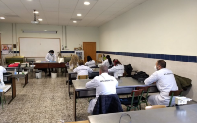 Trabajadores desempleados eligen Salesianos Cartagena para mejorar su capacitación laboral y su empleabilidad