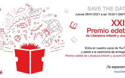 316 originales aspiran a la XXIX edición del Premio Edebé de Literatura Infantil y Juvenil