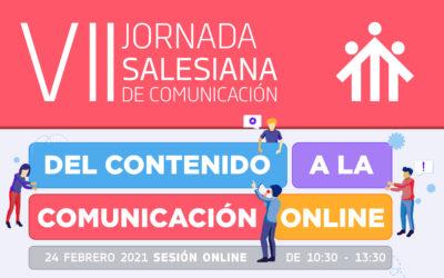 """""""Del contenido a la comunicación online"""" en el eje de la 7ª Jornada Salesiana de Comunicación"""