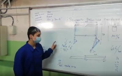El Proyecto Pizarra de La Almunia contribuye a mejorar las aulas salesianas
