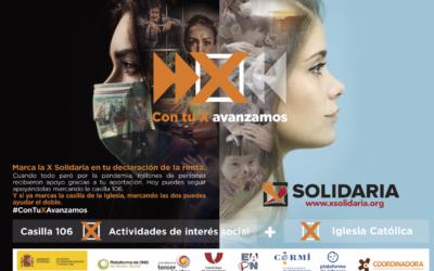 Las Plataformas Sociales y los Centros Juveniles animan a marcar la X Solidaria para que la sociedad avance