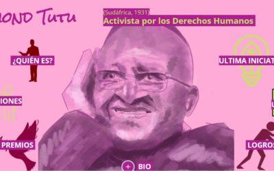 ¿Conoces a Desmond Tutú, activista por los derechos humanos?