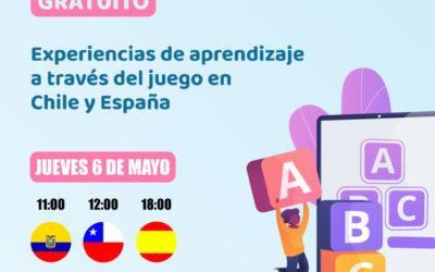 """Bosco Global anima a inscribirse al seminario online """"Experiencias de aprendizaje a través del juego en Chile y España"""""""