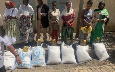 Bosco Global colabora en la ayuda de emergencia a las comunidades afectadas por el conflicto en Tigray, Etiopía