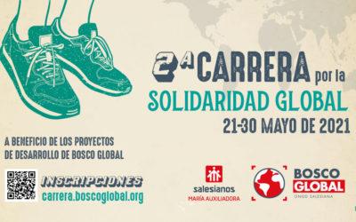 Participa, desde cualquier lugar, en la 2a Carrera por la #SolidaridadGlobal de Bosco Global