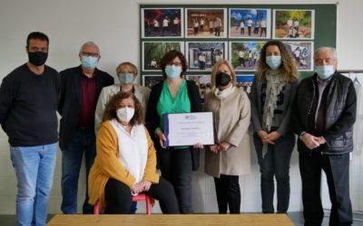 El Gremio de Fabricantes de Sabadell entrega un reconocimiento a la escuela Salesiana de la ciudad por el proyecto artèxtil innovation