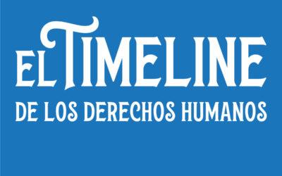 ¿Quieres conocer los eventos históricos más relevantes para la defensa de los derechos humanos?