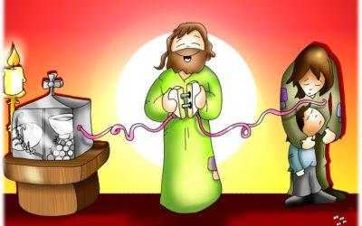 VIVIR A FONDO – CICLE B –  CORPUS CHRISTI