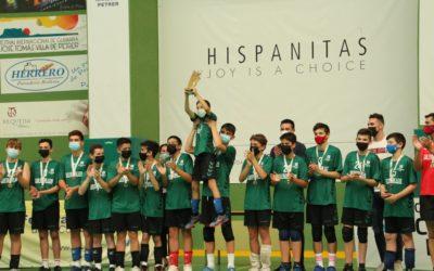 El equipo infantil de voleibol de Salesianos Elche logra el título de campeón autonómico