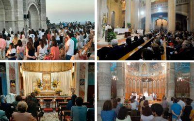 El Templo del Sagrado Corazón de Jesús del Tibidabo se adhiere a la «Red Mundial de Oración del Papa»
