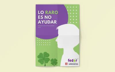Salesianos San Antonio Abad lanza el proyecto de Aprendizaje Servicio sobre las Enfermedades Raras #LoRaroEsNoAyudar