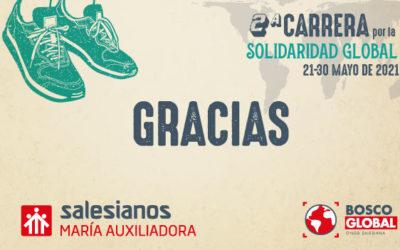 ¡Gracias! Éxito de participación en la Carrera por la #SolidaridadGlobal