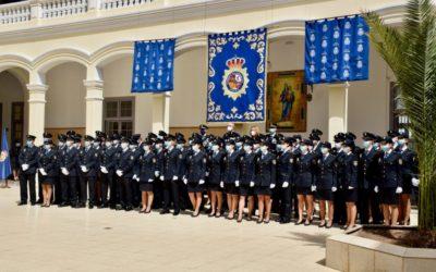 76 nuevos agentes de la Policía Nacional juran el cargo en el colegio salesiano de Las Palmas