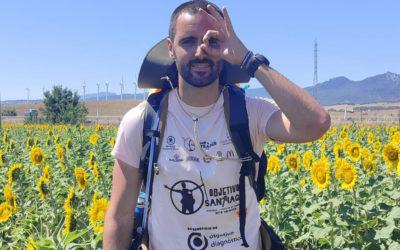 Pedro Hidalgo, antiguo alumno de Salesianos Algeciras, recorre 1300 kilómetros por una causa solidaria