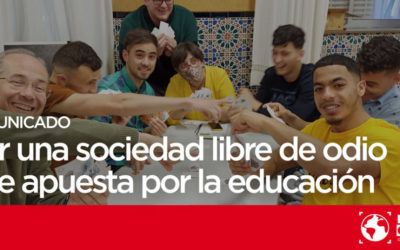 Por una sociedad libre de odio que apuesta por la educación