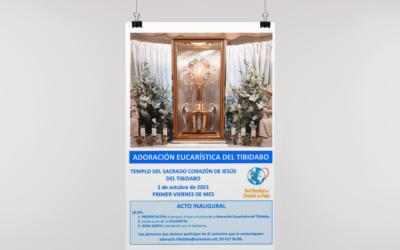 El Templo del Sagrado Corazón de Jesús del Tibidabo 'relanza' la Adoración Eucarística