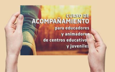 Se lanza el curso de acompañamiento nivel II para educadores y animadores de Centros Educativos y Juveniles